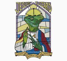 Jesus Christ Lizard by Tai's Tees One Piece - Short Sleeve