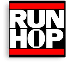 Run HIP HOP mashup - Alternative version Canvas Print