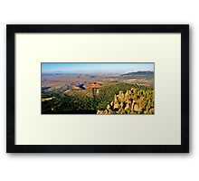 LAND Framed Print