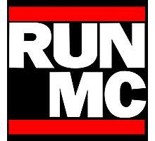 RUN MC - Hip Hop Mashup Photographic Print