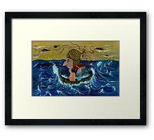 Weary Voyage Framed Print