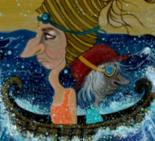 Weary Voyage Sticker
