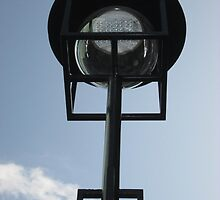 MacKintosh Lampost Outside Glasgow School Of Art by MagsWilliamson