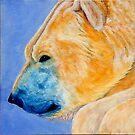 "Polar Bear"" 2015 Acrylic on canvas by Michael Arnold"