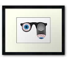 Pop-Out Eye Glasses Framed Print