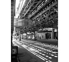 CHICAGO EL - LAKE STREET Photographic Print