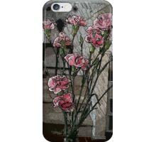 impressionist pink iPhone Case/Skin
