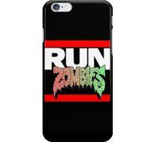 RUN ZOMBIES - Mahsup!! iPhone Case/Skin
