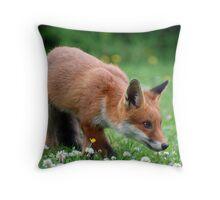 Stalking Throw Pillow