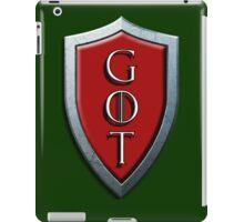 G.O.T iPad Case/Skin