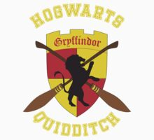 Gryffindor Quidditch Team Kids Clothes