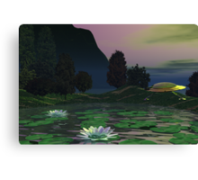 Saucer Full Of Secrets Canvas Print