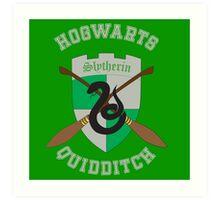Slytherin Quidditch Team Art Print