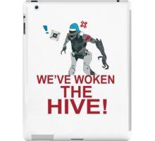 We've Woken The Hive iPad Case/Skin