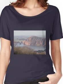 sandstone coastline Women's Relaxed Fit T-Shirt