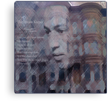 Langston Hughes: The Dream Keeper Canvas Print