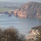 sidmouth bay by brucemlong