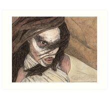Restless - First Slayer - BtVS Art Print