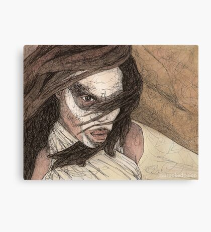Restless - First Slayer - BtVS Canvas Print