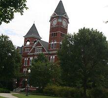 Stamford Hall at Auburn University, Alabama by TonyaJo