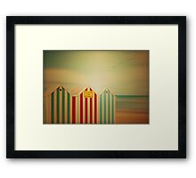 Life is a beach sometimes  Framed Print