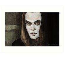 Buffy Vs. Dracula - Dracula - BtVS Art Print