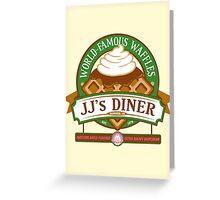 JJ's Diner Greeting Card