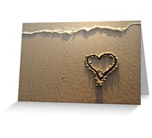 Loveheart Greeting Card