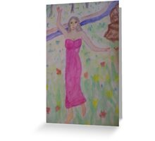 Dancing in the Fields Greeting Card