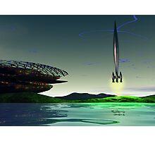 Spaceport Photographic Print