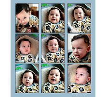 Matthew 4 months Photographic Print