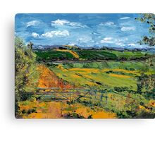 Rural Oxfordshire Canvas Print