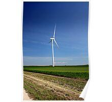 Lone Windmill Poster