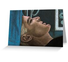 Out of my Mind - Spike - BtVS Greeting Card