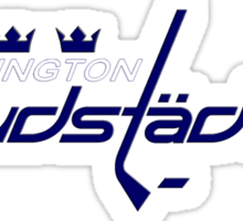Swedish Capitals Logo blue Sticker