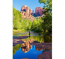 Red Rock Crossing Photographic Print