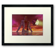 Standing Night Framed Print