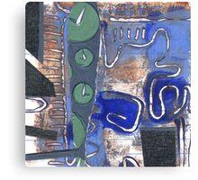 Tick, tock Canvas Print