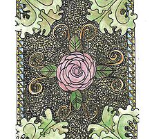 Rose Acanthus/Color by Theresa Hartman