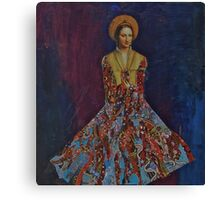 Portrait of A Lady Canvas Print