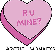 R U MINE? Arctic Monkeys art by crazybitches