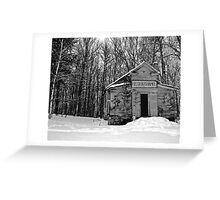 Winter Chapel Greeting Card