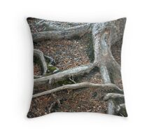 Laying Down Roots Throw Pillow
