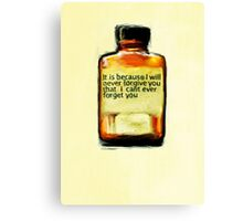 Ongoing Medication Canvas Print