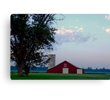 Beyond the Red Canvas Print