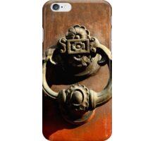Italian Door Handle iPhone Case/Skin