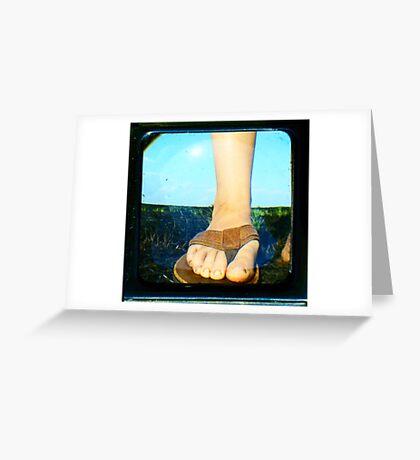 My Locomotion Greeting Card