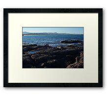 Waterscapes: Illlawarra, NSW: Windang island vista - SOOC Framed Print