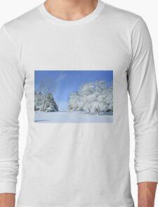 Freshly Fallen Snow Long Sleeve T-Shirt