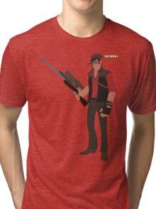 Team Fortress 2 | Minimalist Sniper Tri-blend T-Shirt
